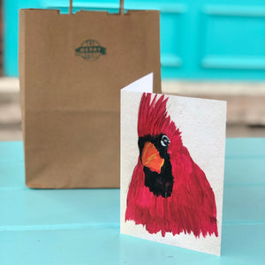 Cardinal Cards By Francie - Creatures of Habit-at