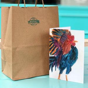 Rooster Cards By Francie - Creatures of Habit-at