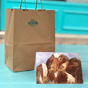 Goats Cards By Francie - Creatures of Habit-at