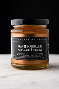 Orange Marmalade Top Shelf Preserves!