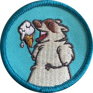 Blue Patch The Trash Panda Patch