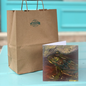 Frog Cards By Francie - Creatures of Habit-at