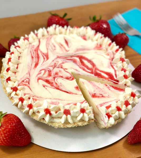 Strawberry Shortcake Pies