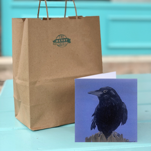 Raven Perched Cards By Francie - Creatures of Habit-at