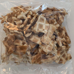 Gluten-free waffle pieces!