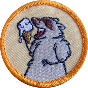 Yellow Patch The Trash Panda Patch