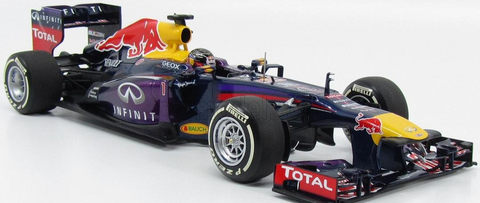 INFINITI RED BULL RACING RENAULT RB9 - SEBASTIAN VETTEL - WINNER INDIAN GP - WORLD CHAMPION 2013