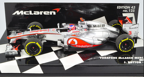 VODAFONE MCLAREN MERCEDES MP4-27 - JENSON BUTTON - 2012