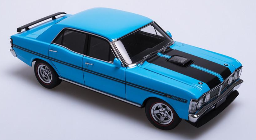 FORD XY FALCON GTHO PHASE III TRUE BLUE