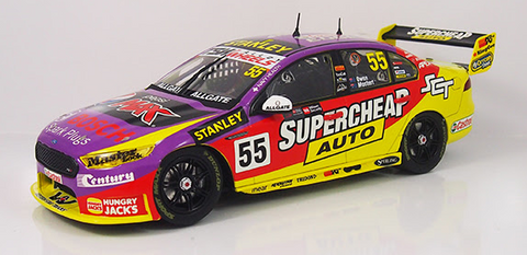 "FORD FGX FALCON - SUPERCHEAP AUTO RACING - #55 - MOSTERT/OWEN - 2016 SANDOWN 500 RETRO LIVERY ""SPECIAL"""