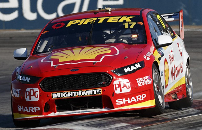 Ford FGX Falcon – Shell V-Power Racing – 2017 Perth SuperSprint (Scott's first championship win with DJRTP).  Driver Scott McLaughlin ( PRE-ORDER )
