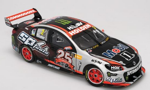 "Holden VF Commodore V8 Supercar HRT # 2, 2015 25th Anniversary Livery – Tander "" SPECIAL """