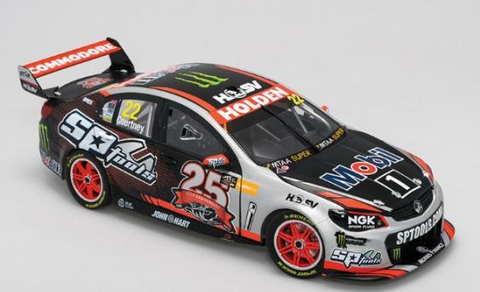 "Holden VF Commodore V8 Supercar HRT # 22, 2015 25th Anniversary Livery – Courtney "" SPECIAL """