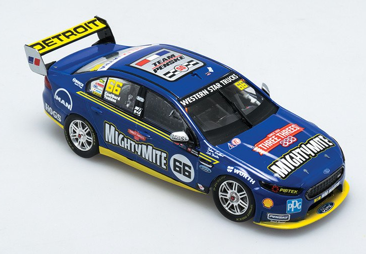 FORD FALCON FGX V8 SUPERCAR COTF  DJR TEAM PENSKE #12 DRIVERS: FABIAN COULTHARD / LUKE YOULDEN 2016 WILSON SECURITY SANDOWN 500 RETRO LIVERY ( PRE-ORDER )