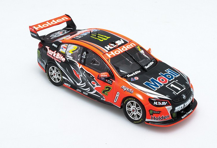 HOLDEN VF COMMODORE V8 SUPERCAR COTF  HOLDEN RACING TEAM #2 DRIVERS: GARTH TANDER / WARREN LUFF 2016 WILSON SECURITY SANDOWN 500 WINNER (THE LAST HRT WIN) ( PRE-ORDER )