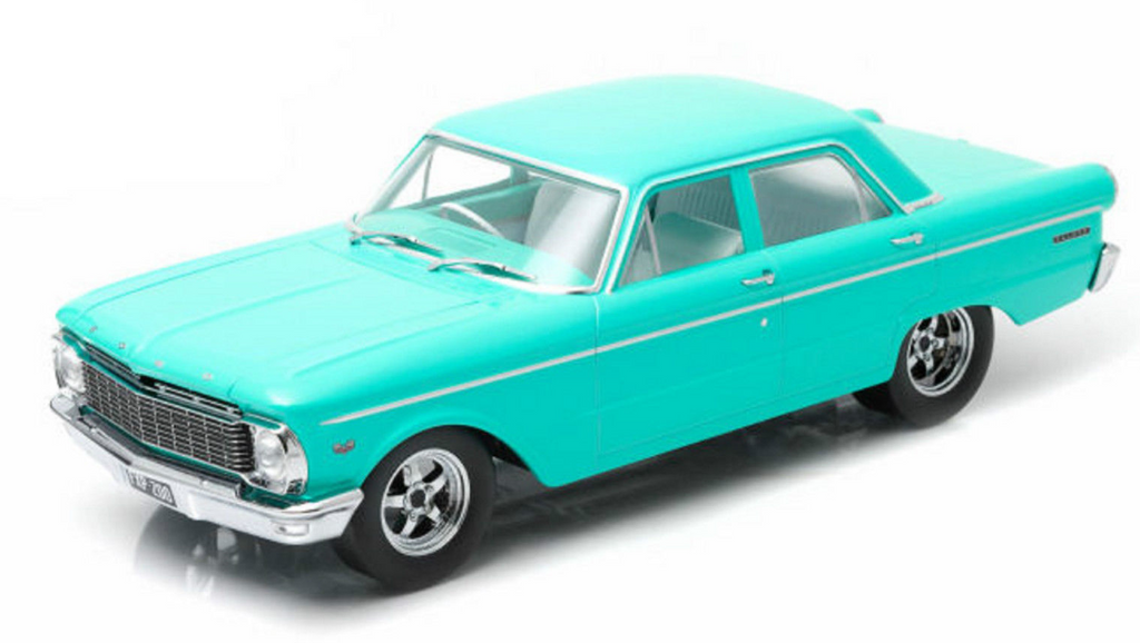 "1965 XP FORD Falcon Sedan Custom in Turquoise Blue "" SPECIAL """
