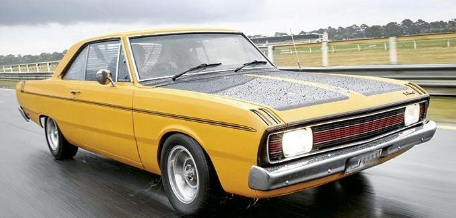 1970 CHRYSLER VG VALIANT - HOT MUSTARD ( PRE-ORDER )