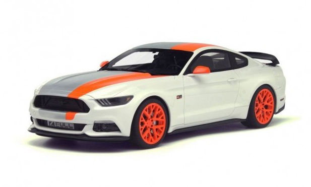 FORD MUSTANG BY BOJIX DESIGN WHITE