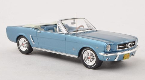"Ford Mustang Convertible - light blue 1965 "" SPECIAL """