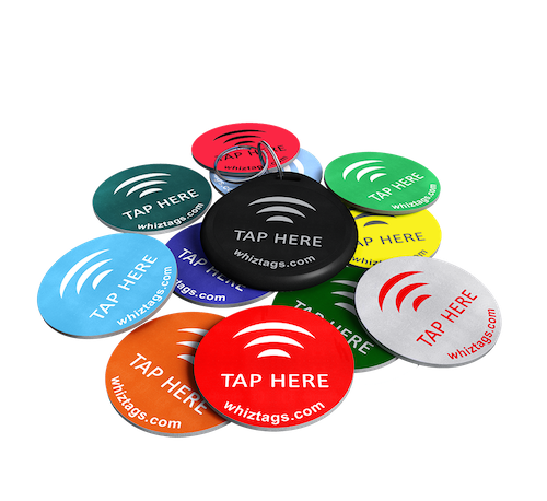 NTAG 213 10 Pack with FREE bonus tag and FREE NFC enabled keychain