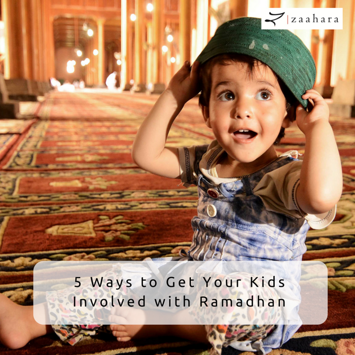 5 Ways to Get Your Kids Involved during Ramadhan