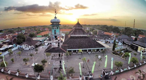 Masjid Agung Demak in Central Java