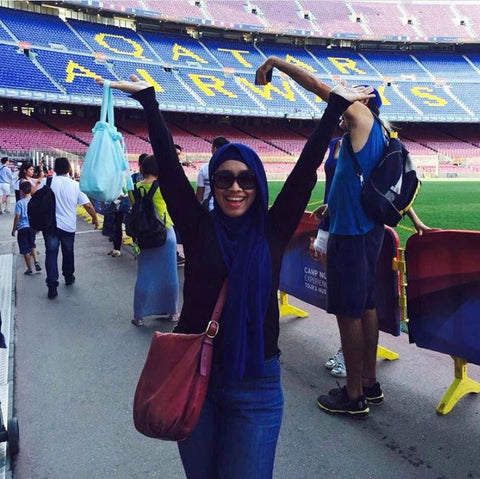Telekung Travel - Travelled to Spain, Barcelona