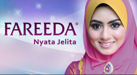 Tudung Fareeda daughter, Mawar is the face of Fareeda