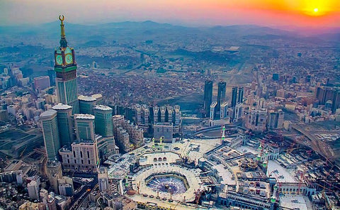 Makkah, a city that never sleeps