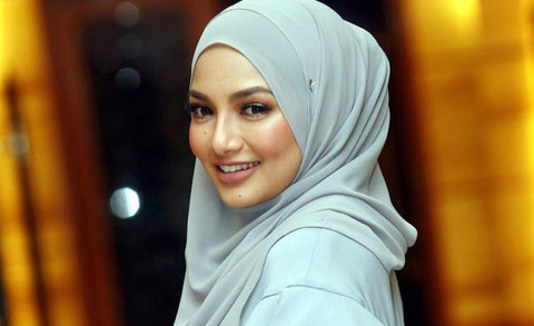 Neelofa is the leading actress and also business woman in Malaysia.