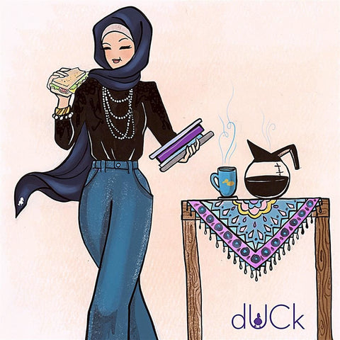 Duck Scarves is an icon for the urban ladies in Malaysia