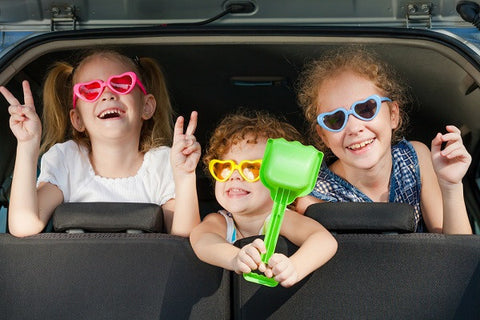 Spend time with kids in the car