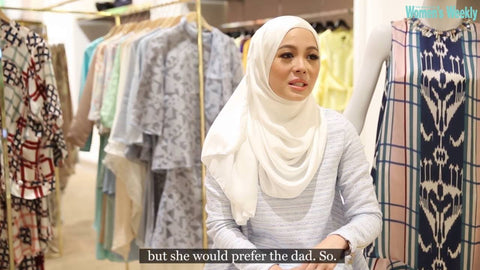 Vivy Yusof the Malaysian blogger who is the founder of duckscarves
