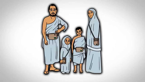 Family of 4 going to perform Umrah