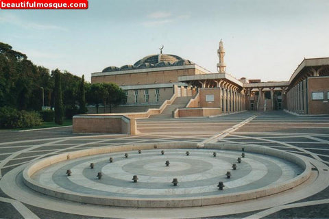 Grand Mosque of Rome, Italy