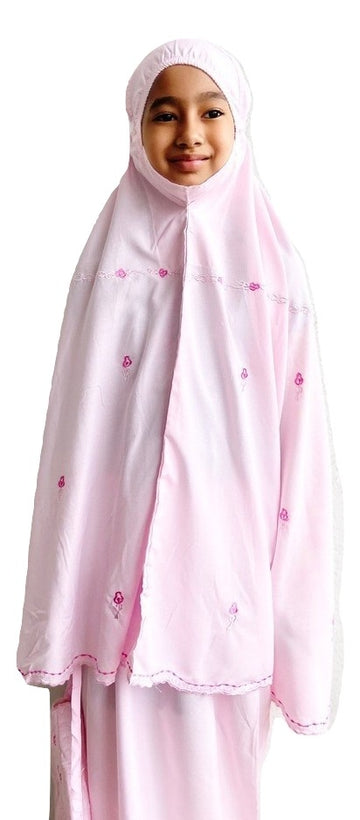 Kids Prayer Wear - Little Miss Zara in Pink
