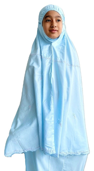 Kids Prayer Wear - Little Miss Zara in Blue