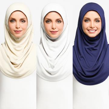 NAFAS Active Hijab - Pack of 3