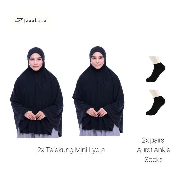Telekung Mini Lycra for Umrah and Hajj