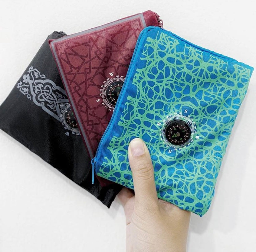 portable Travel pocket sejadah for muslim