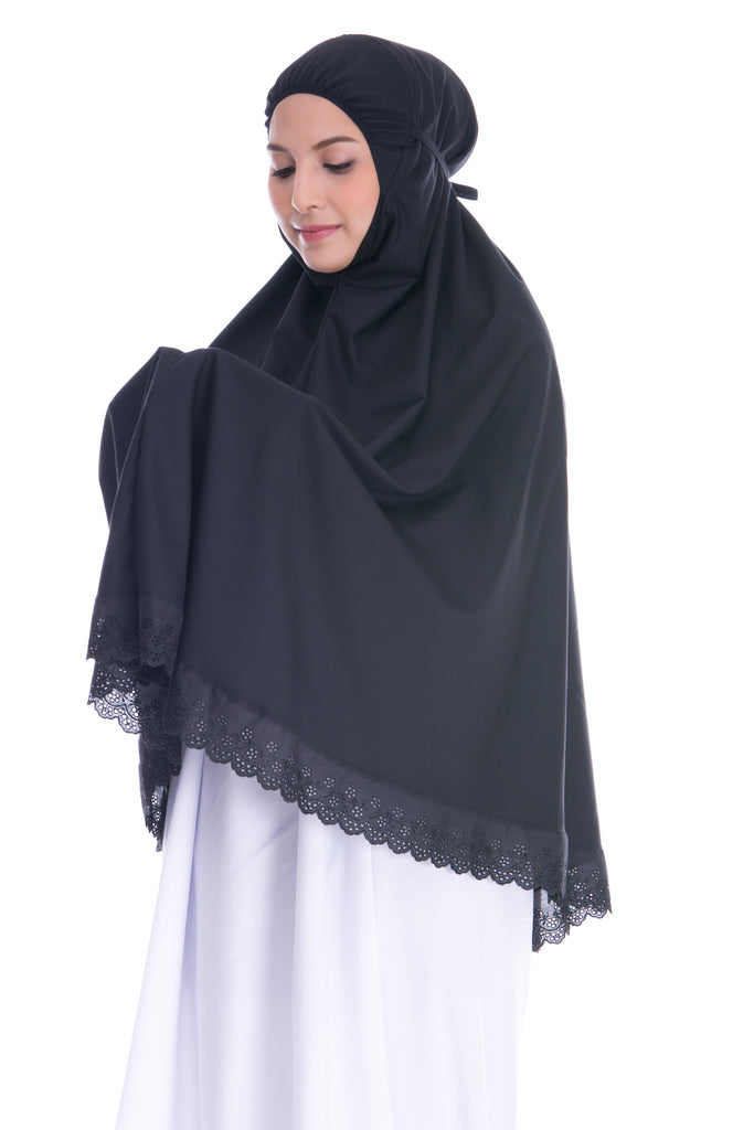 Telekung Mini  is suitable for Hajj or Umrah because  its mini size.