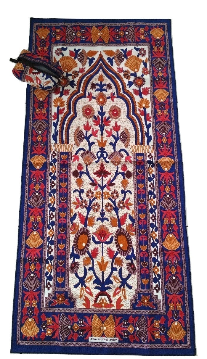 Sajda Musafir - Sejadah Travel (Dark Blue)