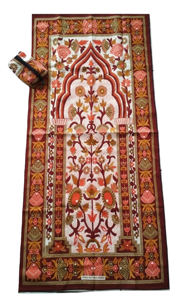 Sajda Musafir - Sejadah Travel (Brown)