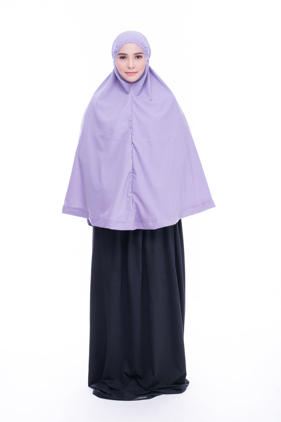 Telekung Mini Hidaya - Purple with Pocket