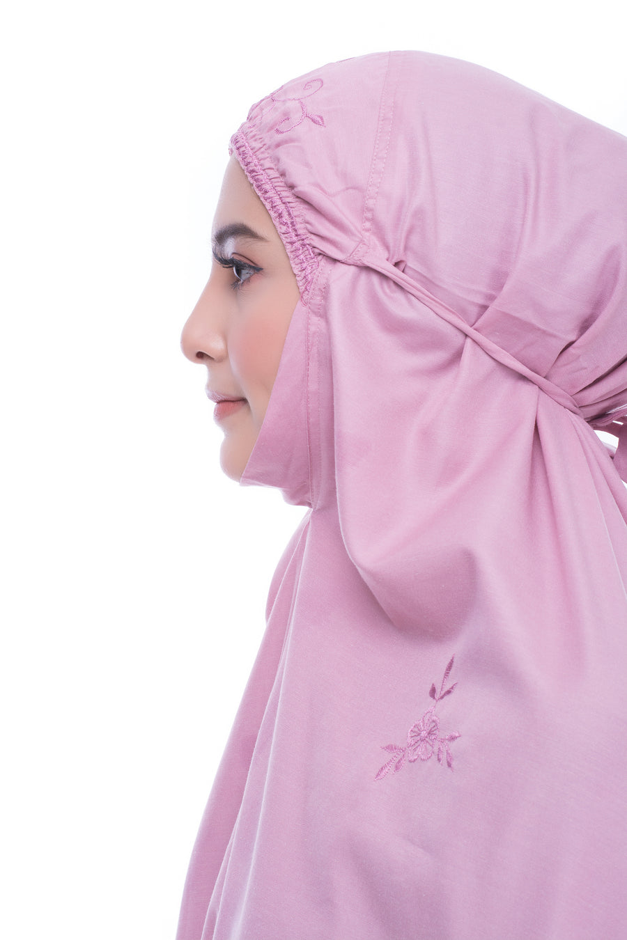 Telekung Travel - Telekung Aasma - Dusty Pink
