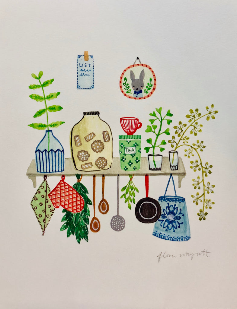Prints by Flora Waycott - 'Dream Like'