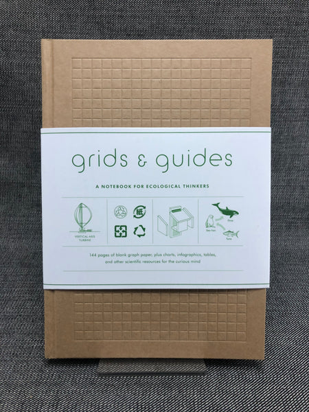 Grids and Guides Eco Notebook