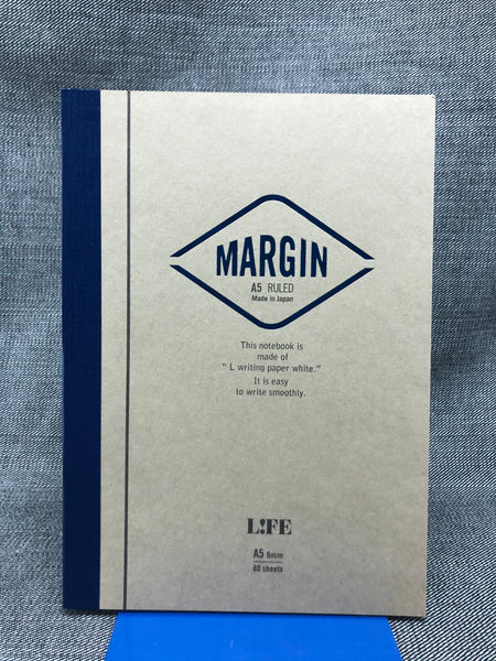Margin A5 Notebooks