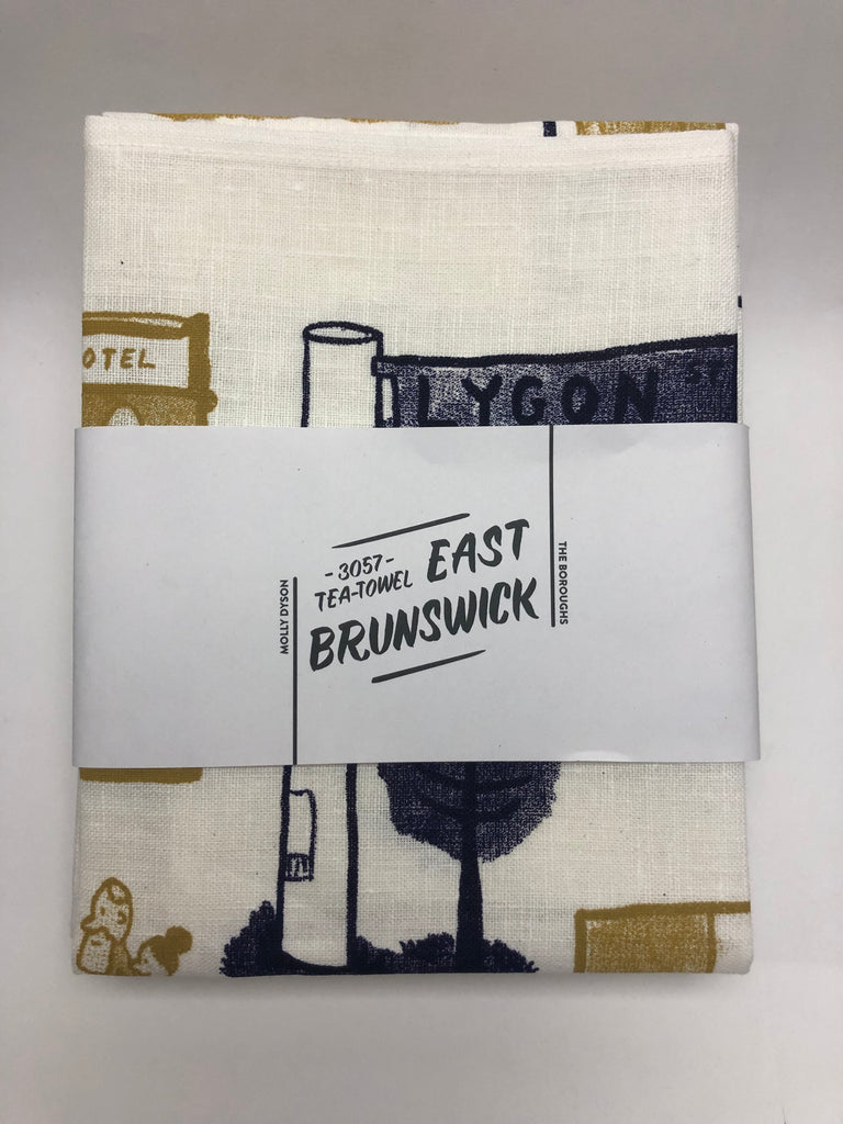 The Boroughs Tea Towel