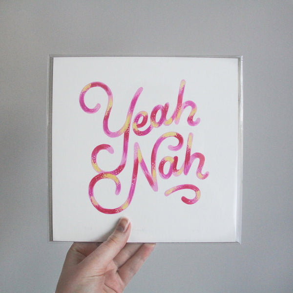 Prints by Ruby MacKinnon ' Colourful Language '